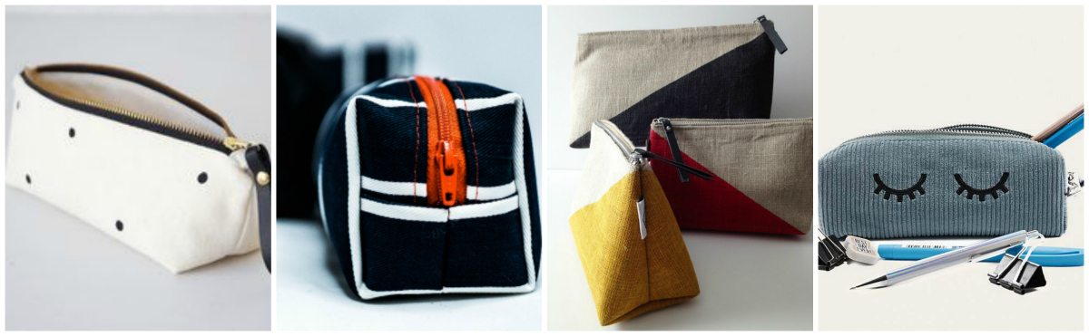 Make a pair of zipper bags