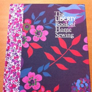 Liberty book of home sewing cover