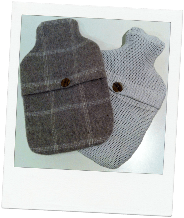 Crafty Christmas idea # 5- Make a hot water bottle cover