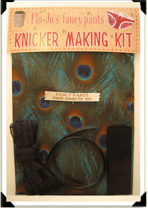 Crafty Christmas idea # 2-A fabulous knicker making kit