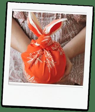 Handmade Christmas idea #6- Fabric wrapping ideas