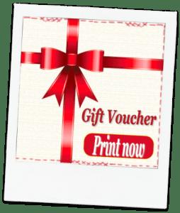 sewing gift voucher