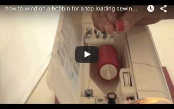 Learn to wind on a bobbin