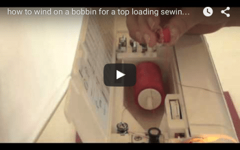 Learn to wind on a bobbin