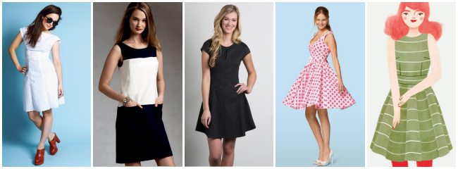 5 of my Fav summer dress patterns