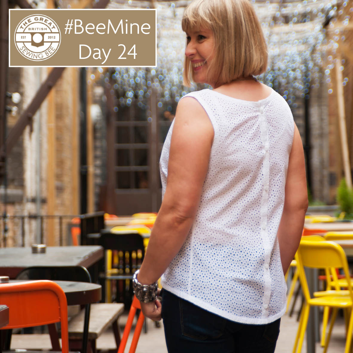 Day 24 #BeeMine- My 30 day blog challenge- Fashion With Fabric