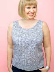 Start dressmaking in London. Learn to make this sleeveless summer top from the Great British Sewing Bee- Fashion with fabric book. Small class sizes of 5 or less, ensure lots of tutor attention.