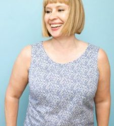 Simple sleeveless top- A Beginner plus dressmaking class @ The Thrifty Stitcher