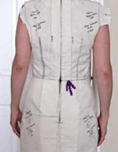 How to get a good fit when dressmaking- the muslin technique