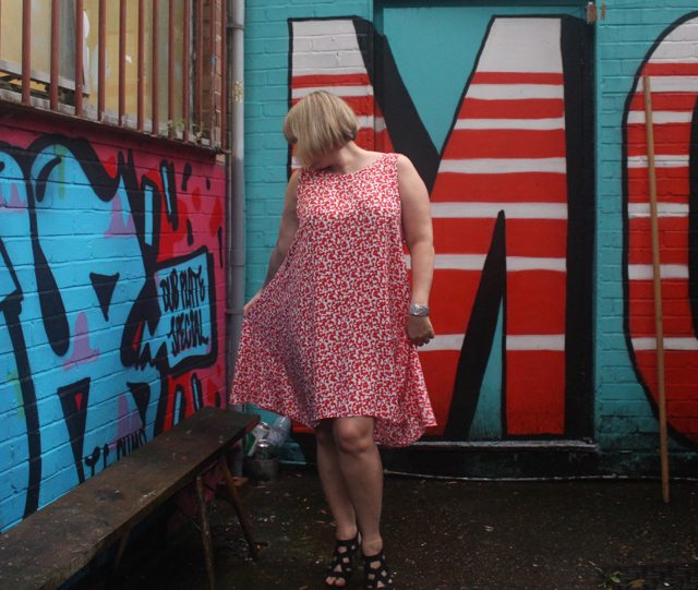 No patterns needed blog tour- The Segment Dress