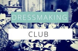Dressmaking Club @ Fashion antidote