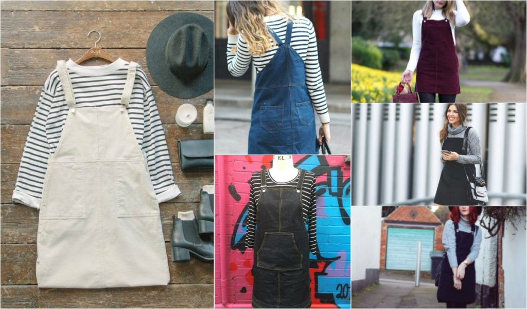 "Sew a Tilly and the buttons ""Cleo"" Dungaree Dress"