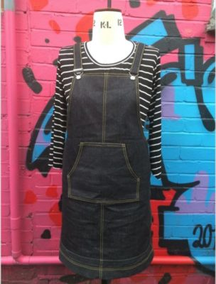 Beginners Dressmaking- Sew a Cleo Dungaree Dress- eve session 2
