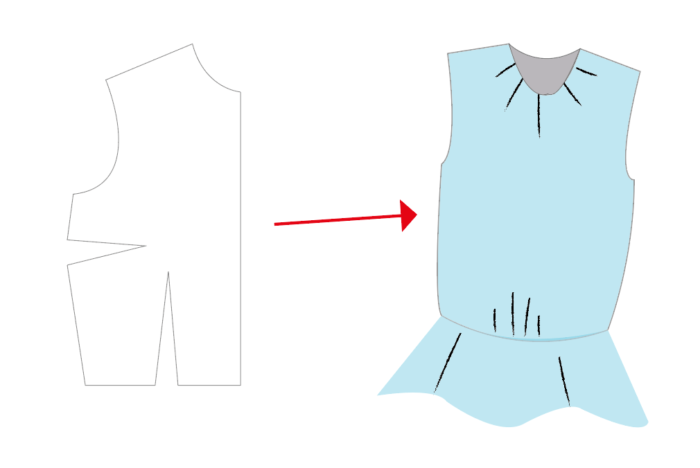 simple pattern hack from a top