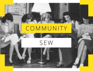 Community Sew- Daytime Dressmaking Club @ The Thrifty Stitcher Studio