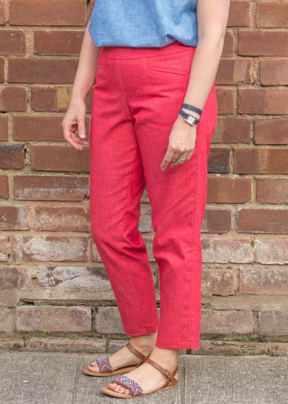 The Hero trouser making weekend-Sew your own classic slim fit trousers