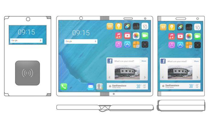 Motorola foldable phone.
