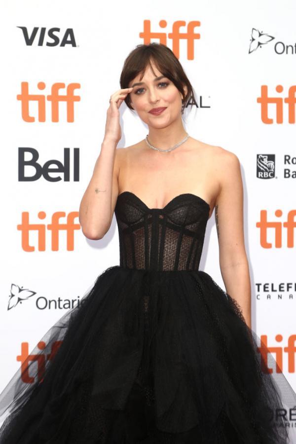 Hotness Alert! Dakota Johnson looking stunning in her ballgown at the Toronto International Film Festival premiere