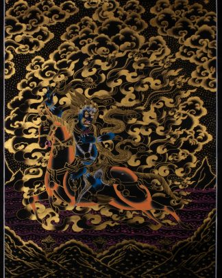 Palden Lhamo - Handmade Thangka Painting from Nepa
