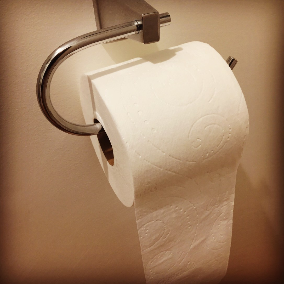 , Toilet paper: it's important!, The Tidy Lady