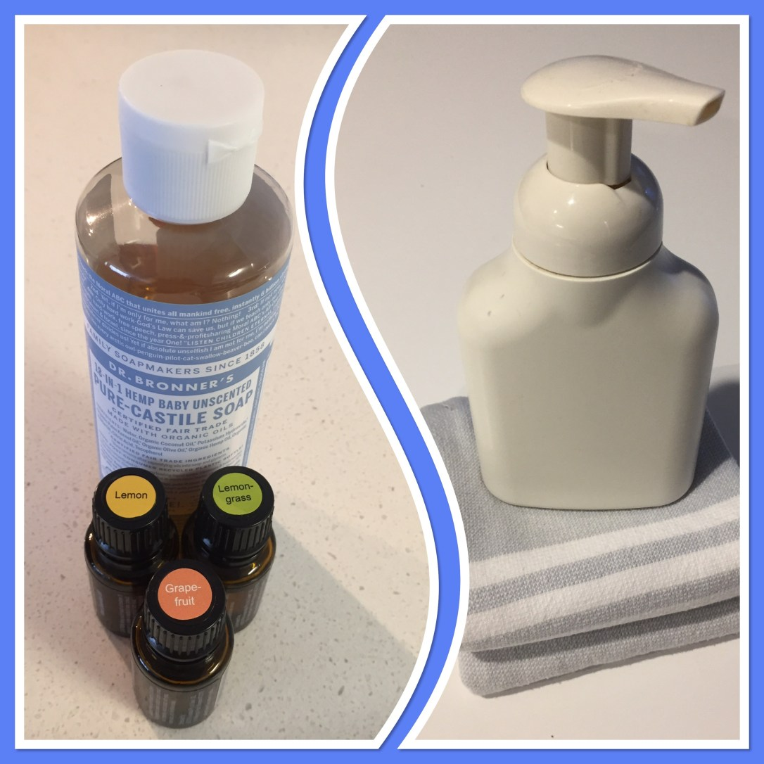 make your own hand soap, Make Your Own Natural Foaming Hand Soap, The Tidy Lady