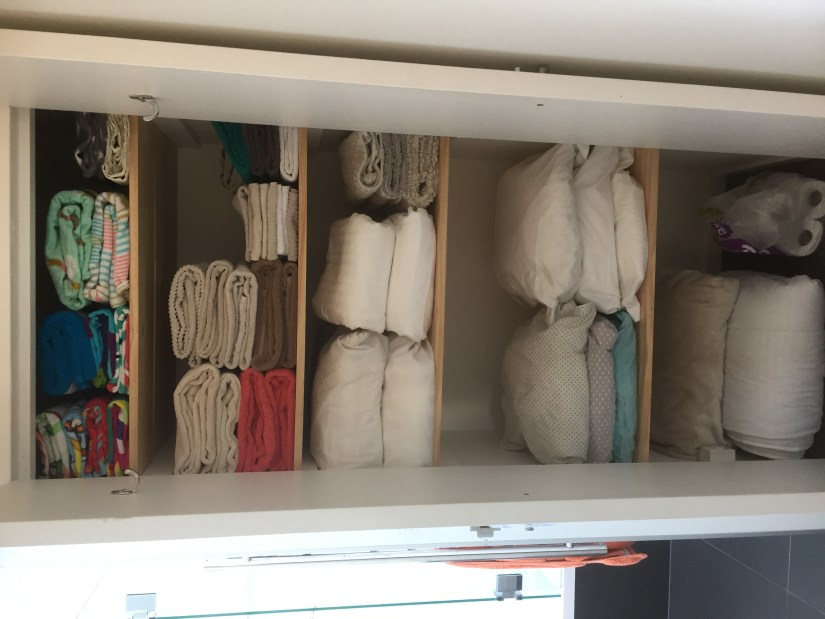 , Before & After Linen Cupboard!, The Tidy Lady