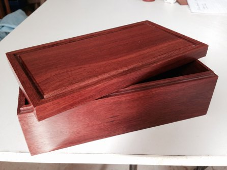 Jarrah Jewellery Box