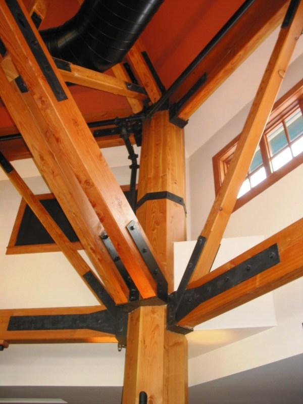Sandy Vtworks Timber Frame Experience