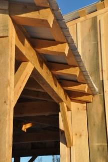 Sandy Vtworks Timber Frame Experience
