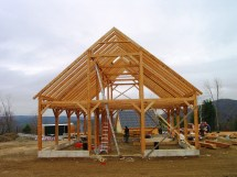 Timber Frame Experience Vermont Works