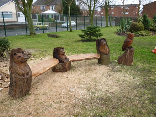 c chainsaw sculptures for