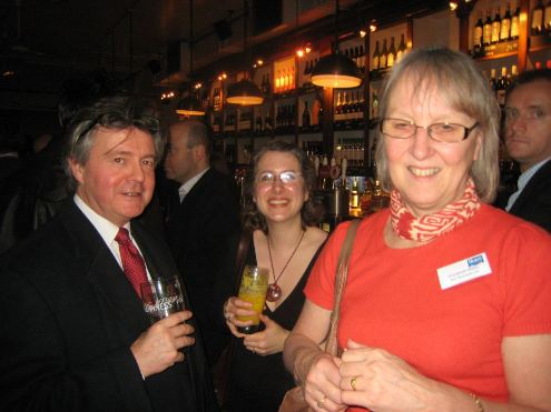 Chris Sherliker, Heather Townsend and Elizabeth Miles