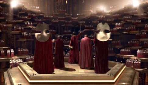 Dr Who - The High Council of The Time Lords