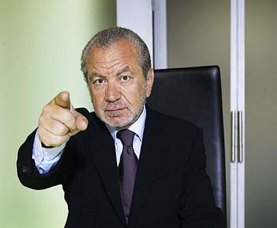 "Lord Sugar: ""You're Fired!"""