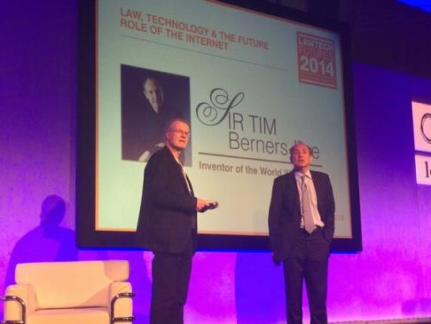 Sir Tim Berners Lee at LawTech Futures 2014