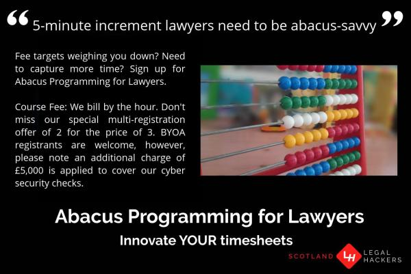 Abacus Programming for Lawyers