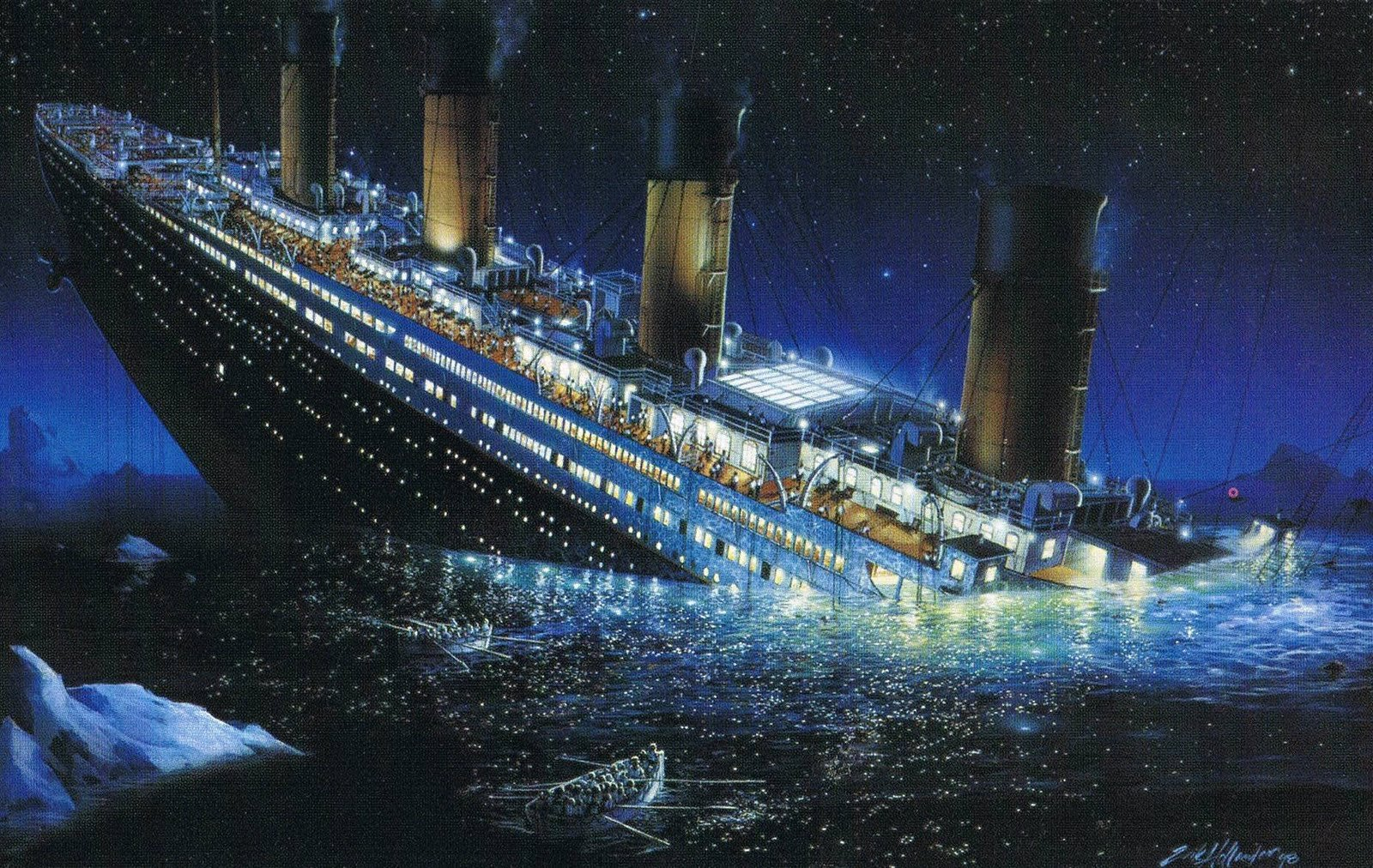 blockchain and the Titanic