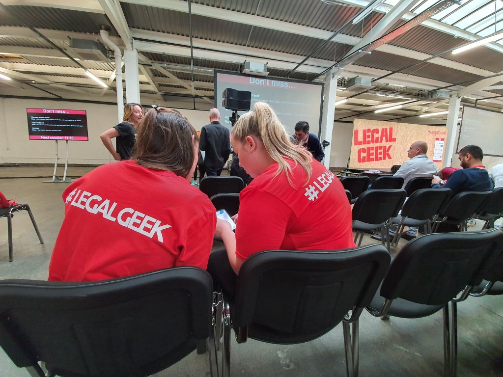 Legal Geek 2019 - View from the front