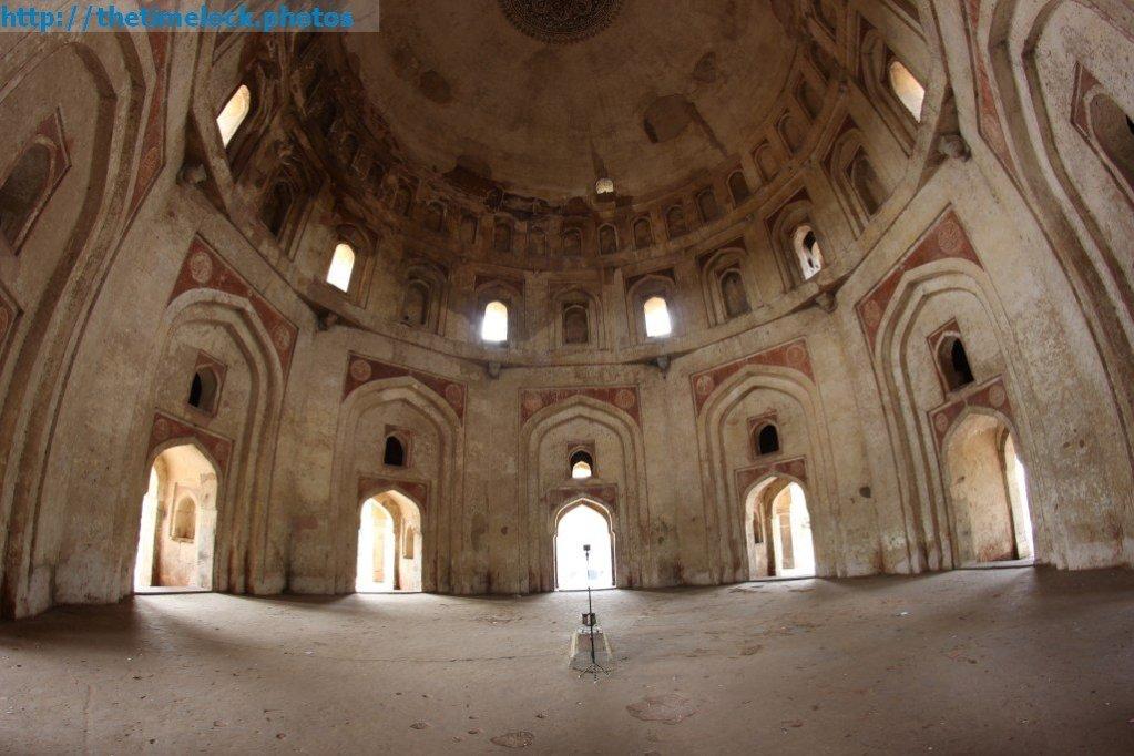 Interior of Bhool Bhulaiya