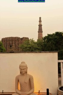 Another view of Qutb Minar