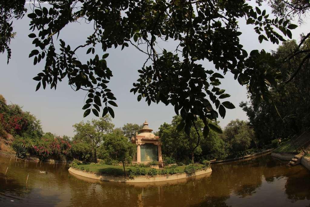 island at Buddha Jayanti Park