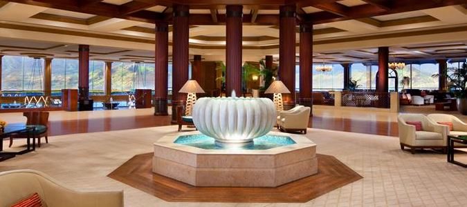 The St. Regis Princeville Resort Lobby