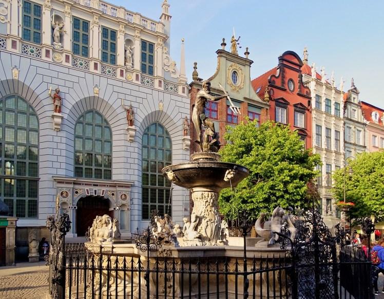 Neptun fountain - City of Gdańsk