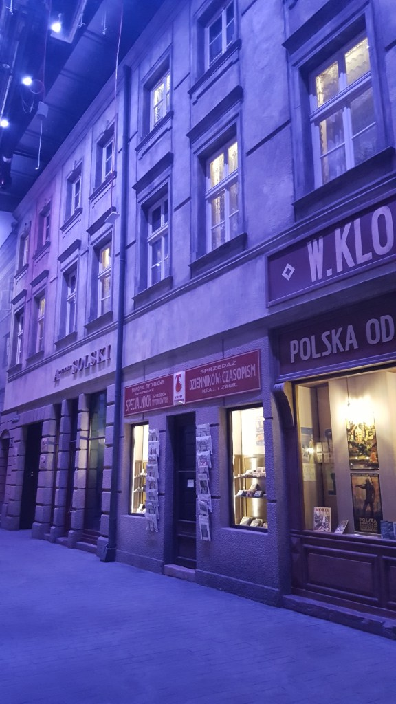 Warsaw street reconstruction