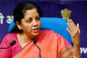 Nirmala Sitharaman in maiden budget speech