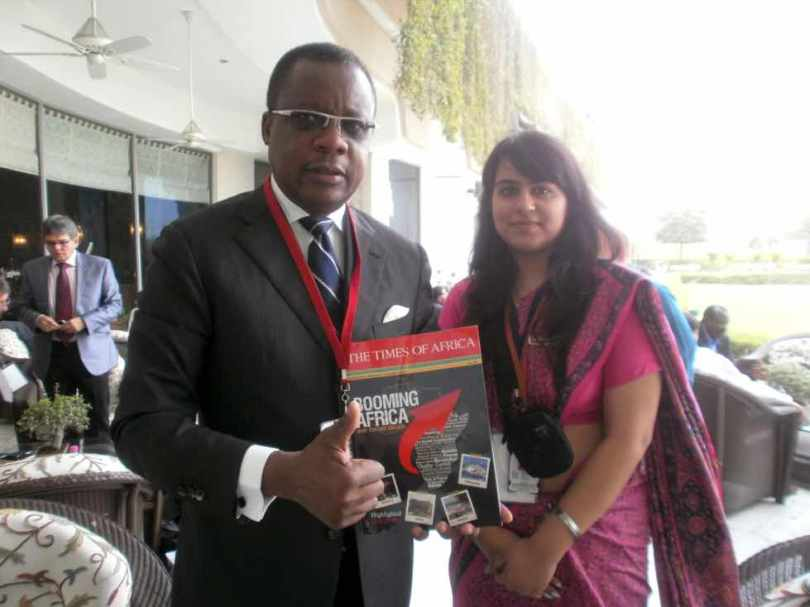 H.E. Mr. Alain Akouala Atipault, Republic of Congo