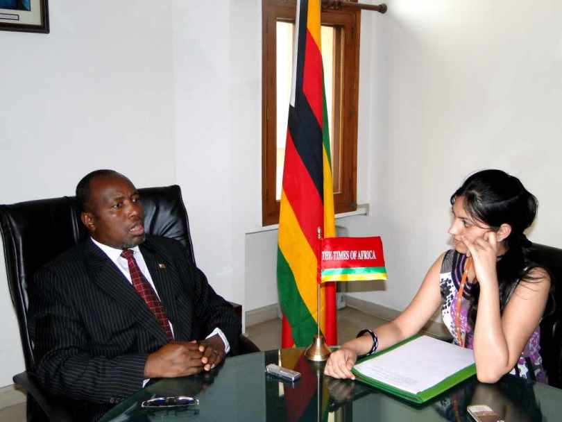 H.E. Mr. Jonathan Wutawunashe, Zimbabwe, 29 June, 2011