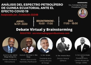 Open Webinar in Equatorial Guinea on Impact of COVID-19 on oil prices