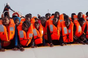 Libya ship wreck off