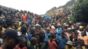50 people dies in goldmine collapsed in Eastern Congo
